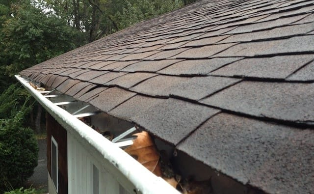 roof with drips